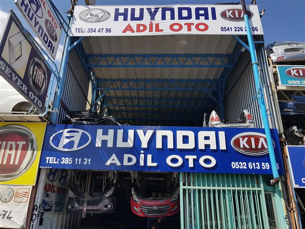 adil oto Hyundai çıkma parça